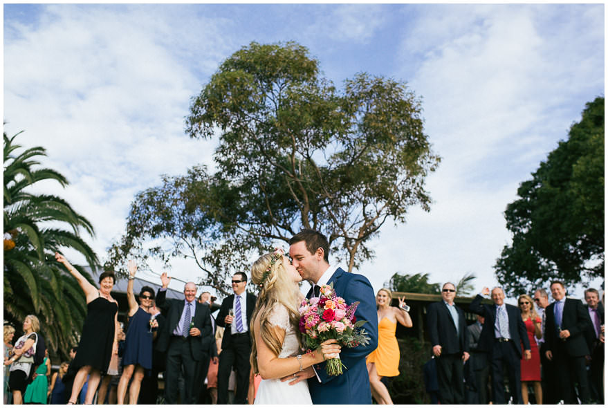 Wedding family photos needn't be structured
