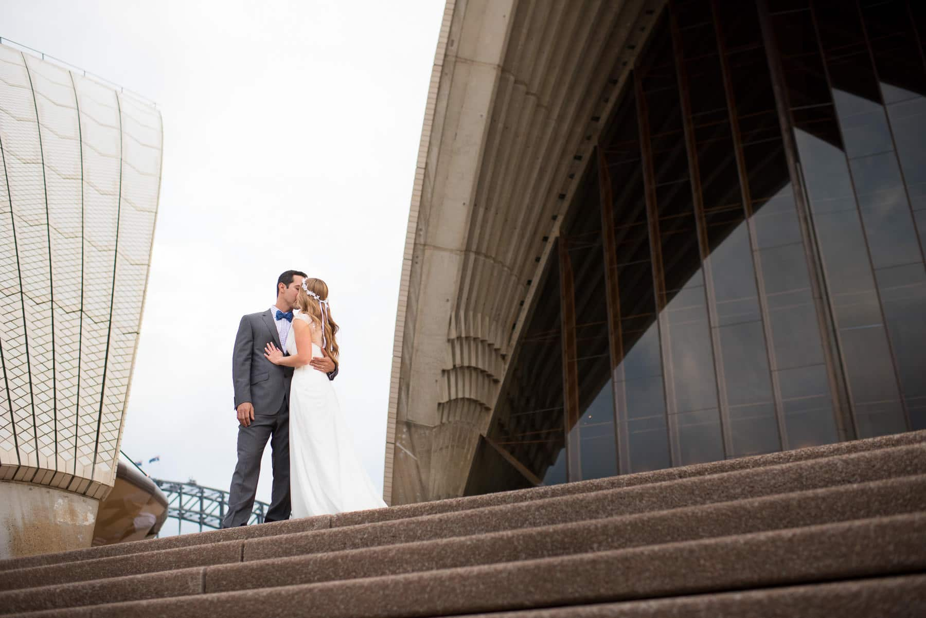 Wedding Photography Location - Sydney Opera House Wedding