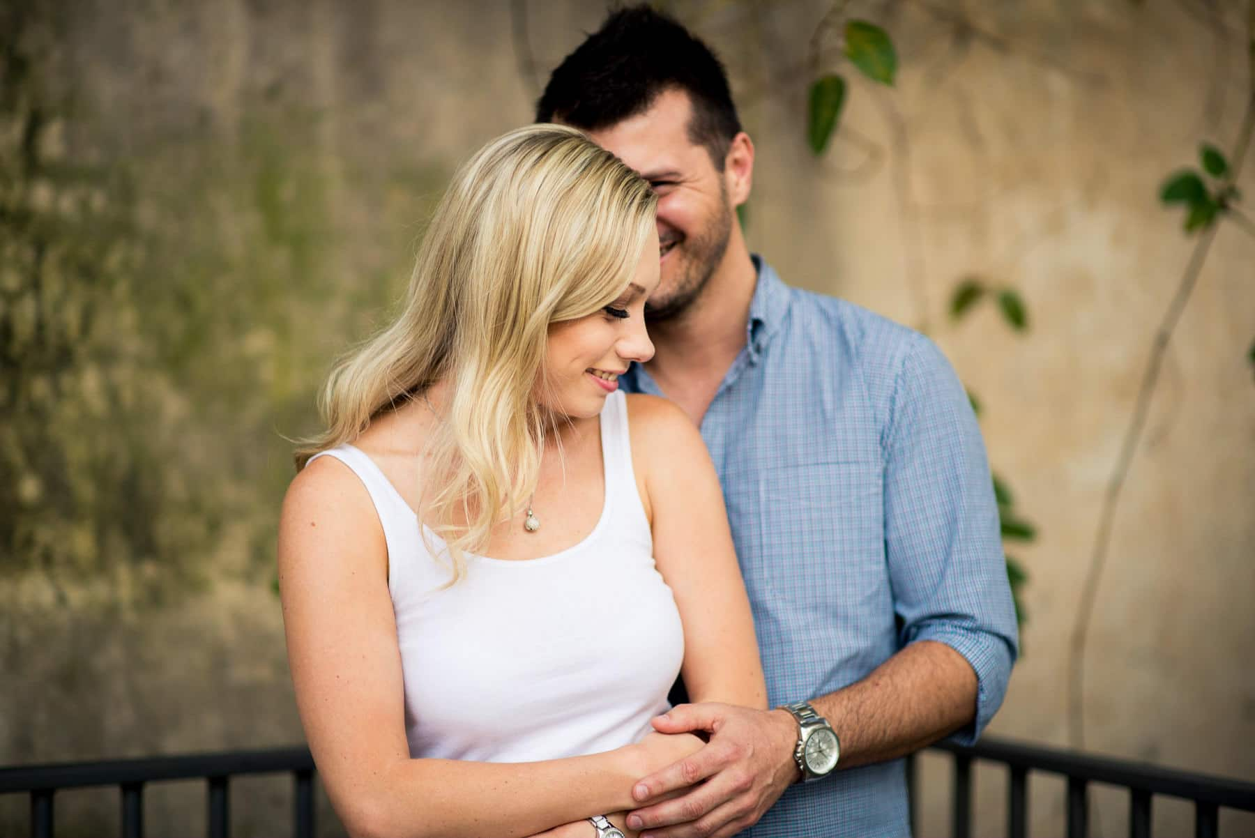Paddington Gardens engagement photos, Paddington Reservoir