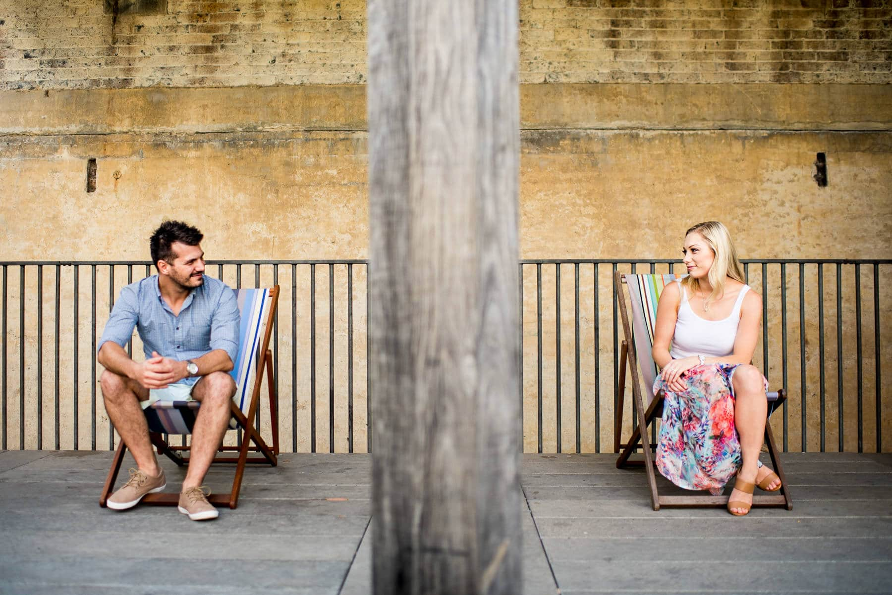 Paddington Gardens pre wedding photos, Paddington Reservoir