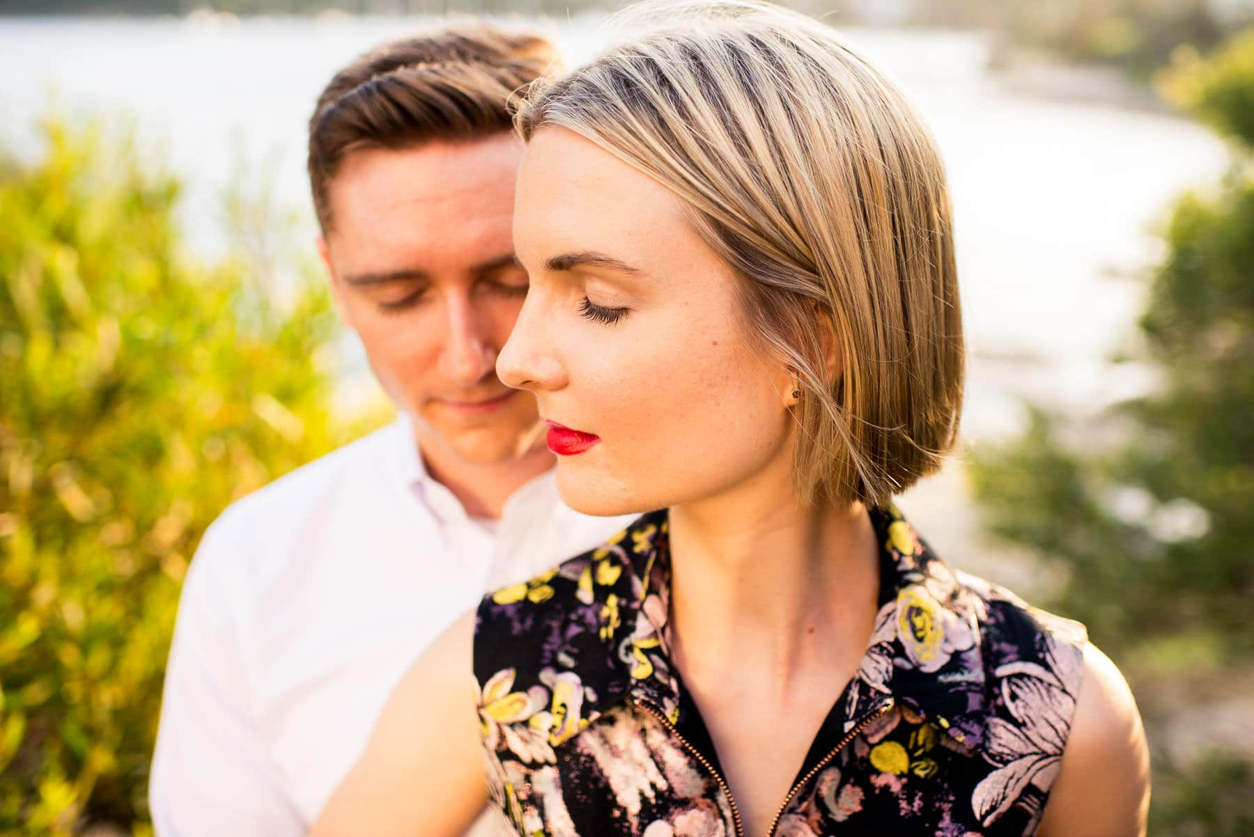 Manly Scenic Walk Engagement Photography Sydney