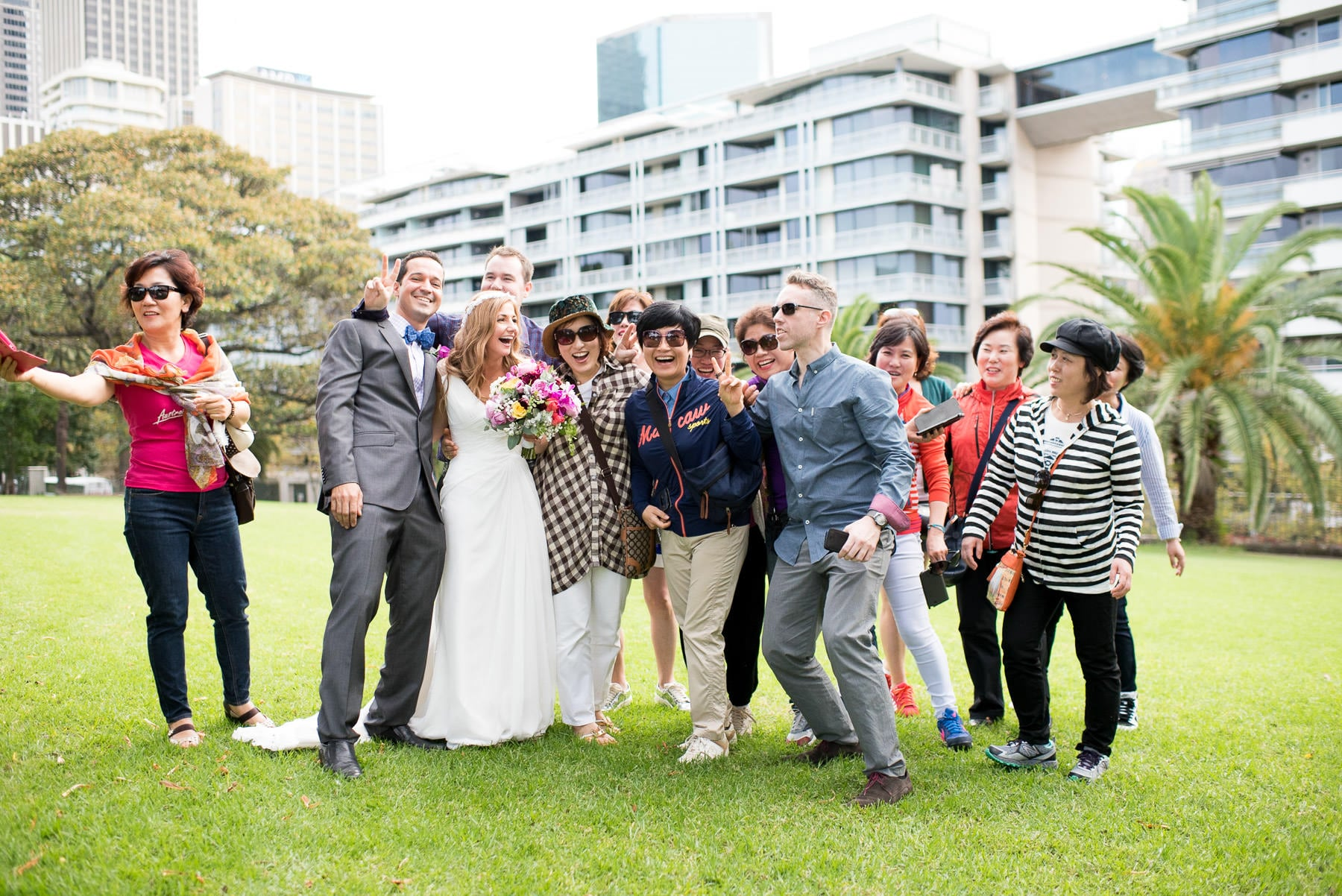 Chinese Tourists wedding photography