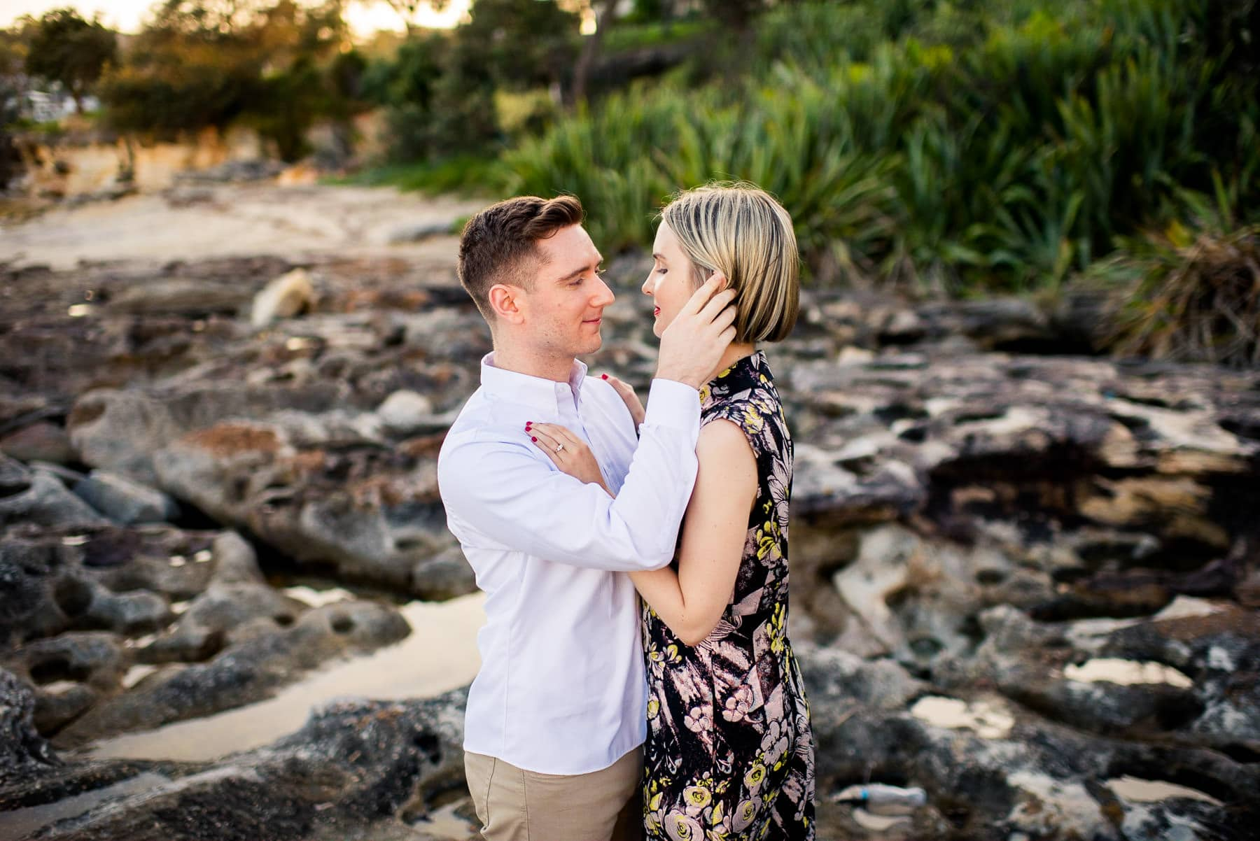 Manly Scenic Walk Engagement Photography