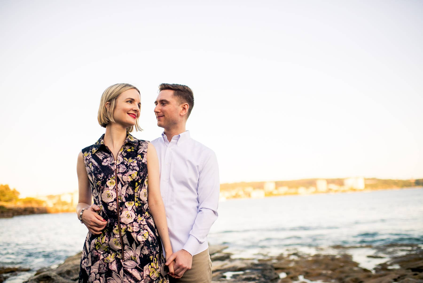manly engagement photography