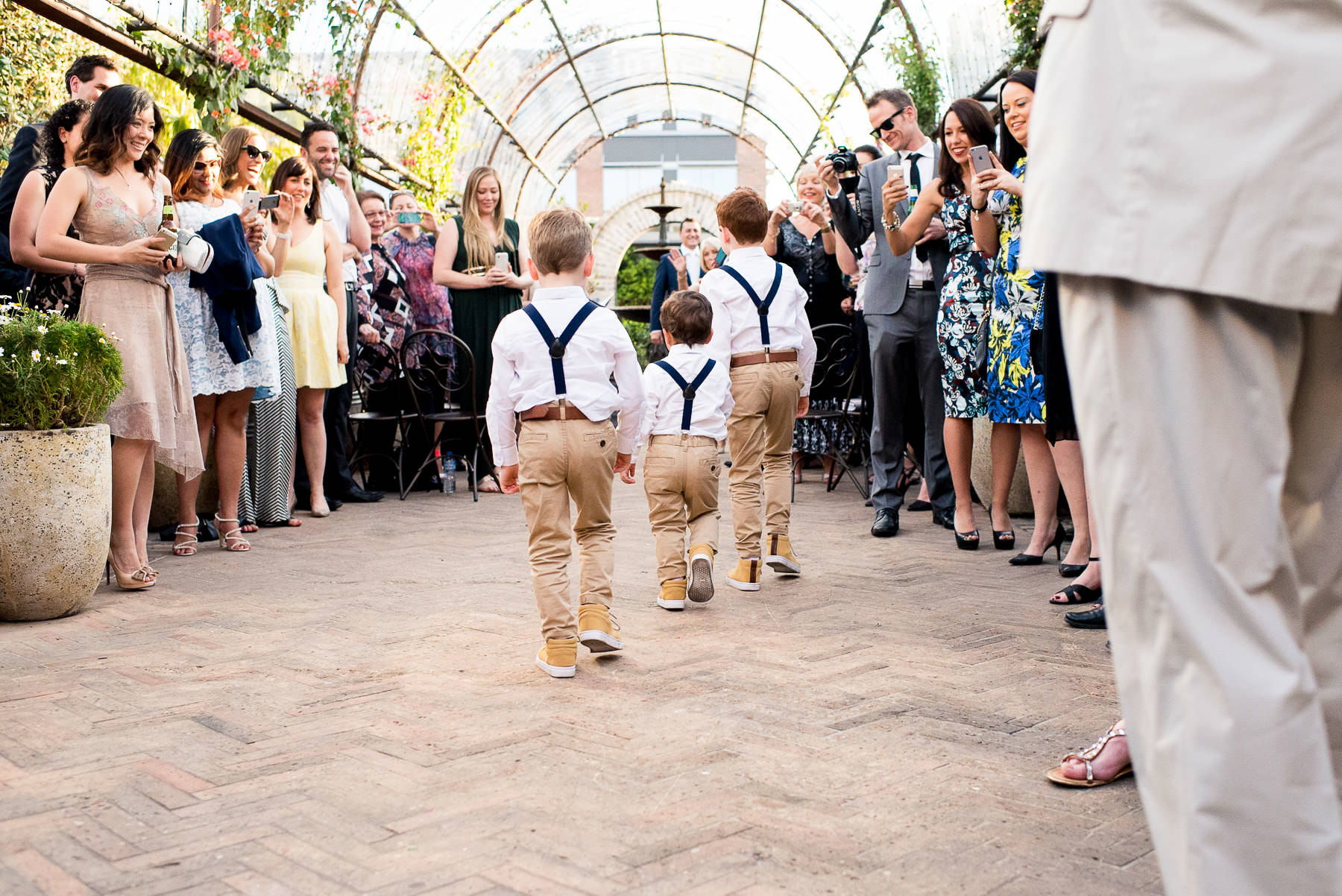 wedding styling for children