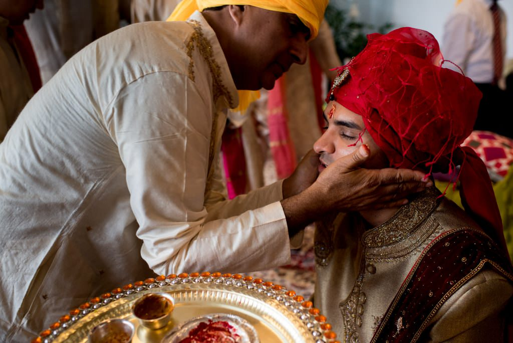 Preparations before an Indian wedding