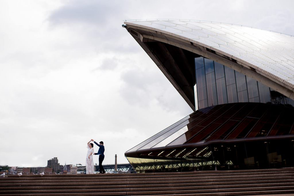 Opera House engagement photography