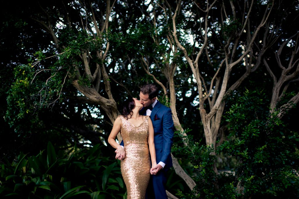 Botanic gardens sydney wedding photography