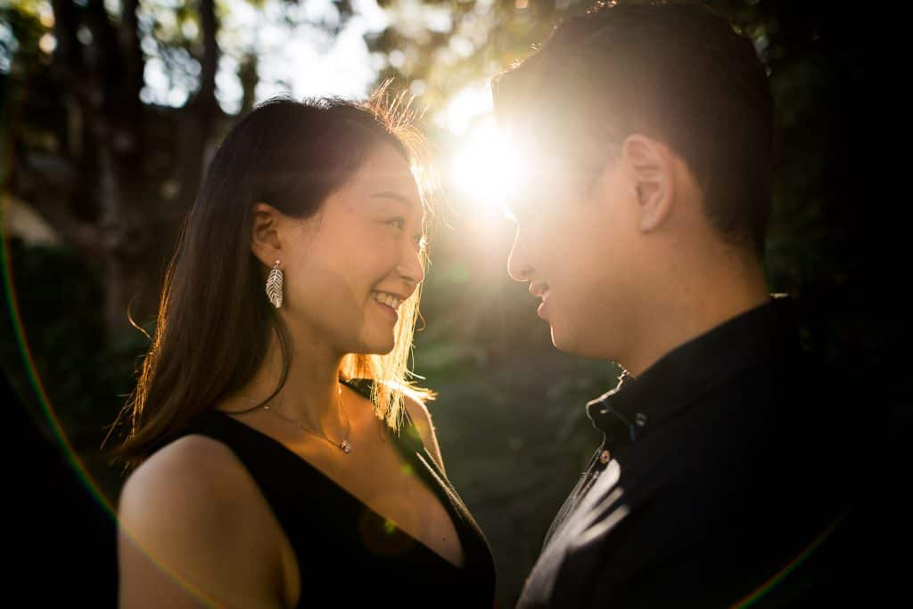 Lavender Bay engagement photography